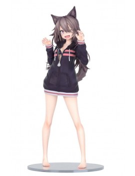 Original Character Statue 1/7 Hoodie Wolf Girl Illustration by Syugao 21 cm