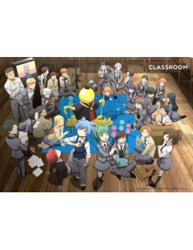 Assassination Classroom Wall Decoration Koro with Class 3-E 140 x 200 cm