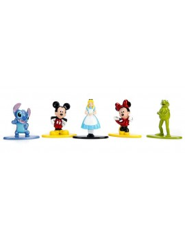 Disney Nano Metalfigs Diecast Mini Figures 5-Pack A 4 cm