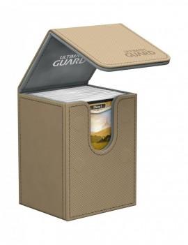 Ultimate Guard Flip Deck Case 80+ Standard Size XenoSkin Sand