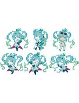 Hatsune Miku GT Project Nendoroid Plus Rubber Charms 7 cm Assortment Racing Miku 2018 Ver. (6)