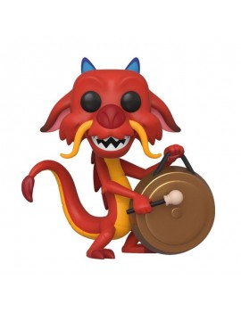 Mulan POP! Movies Vinyl Figure Mushu w/Gong 9 cm