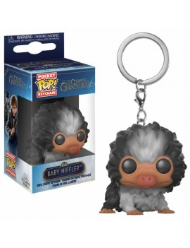 Fantastic Beasts 2 Pocket POP! Vinyl Keychain Baby Niffler (Black/White) 4 cm