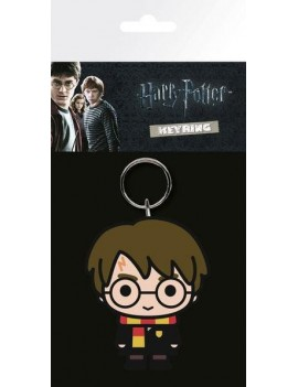 Harry Potter Rubber Keychain Chibi 7 cm