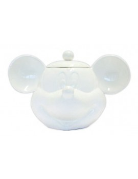 Mickey Mouse 3D Cookie Jar White