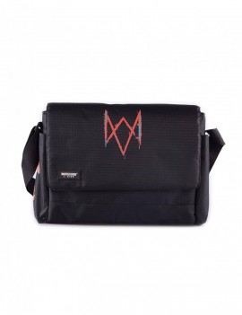 Watch Dogs: Legion Messenger Bag Logo & Patches