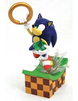 Sonic Gallery PVC Diorama Sonic 23 cm