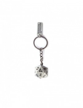 Dungeons & Dragons Metal Keychain Dice 3D