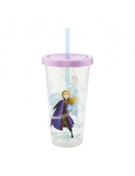 Frozen 2 Cup & Straw Logo