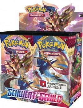 Pokémon Schwert und Schild Booster Display (36) *German Version*