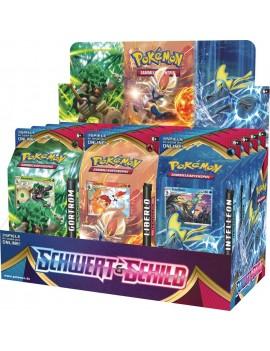 Pokémon Schwert und Schild Theme Deck Display (12) *German Version*