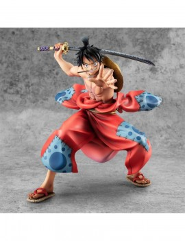 One Piece P.O.P PVC Statue Warriors Alliance Luffy Taro 17 cm