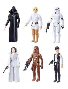 Star Wars Episode IV Retro Collection Action Figures 10 cm 2019 Wave 1 Assortment (6)