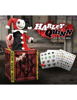 DC Comics Jack in the Box Harley Quinn 29 cm