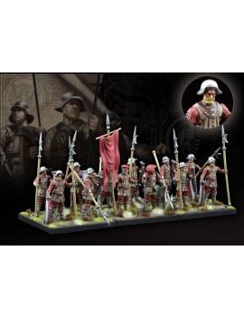 Conquest: The Last Argument of Kings Miniatures 12-Pack Hundred Kingdoms: Militia