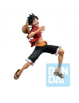One Piece Ichibansho PVC Statue Great Banquet Luffy 16 cm