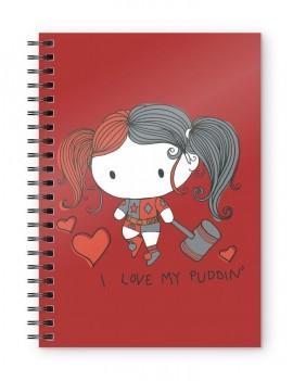 DC Comics Notebook Harley Quinn Chibi Puddin