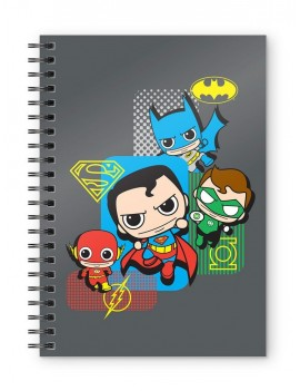 DC Comics Notebook Justice League Chibi