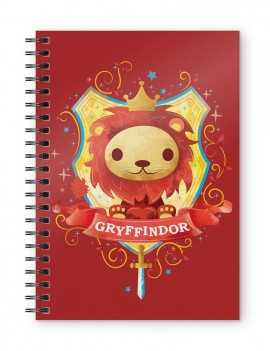 Harry Potter Notebook Gryffindor Kids
