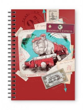 Harry Potter Notebook Hogwarts Express