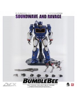 Transformers Bumblebee DLX Action Figure 2-Pack 1/6 Soundwave & Ravage 28 cm