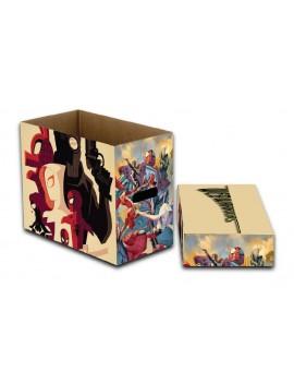 Marvel Storage Boxes Web Warriors 23 x 29 x 39 cm Case (5)