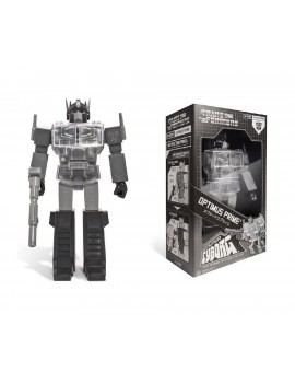 Transformers Action Figure Super Cyborg Optimus Prime Black 30 cm