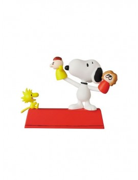 Peanuts UDF Series 11 Mini Figures Puppet Snoopy & Woodstock 10 cm