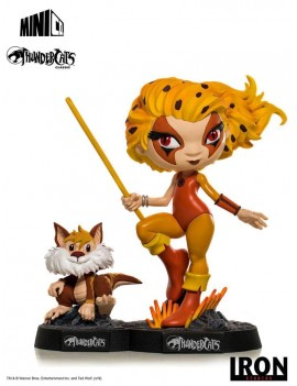 Thundercats Mini Co. PVC Figure Cheetara & Snarf 13 cm