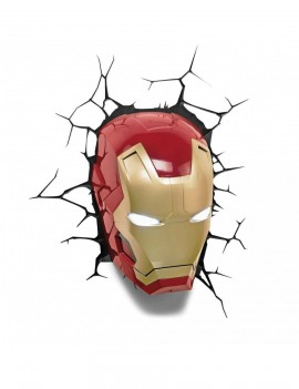 Marvel 3D LED Light Iron Man