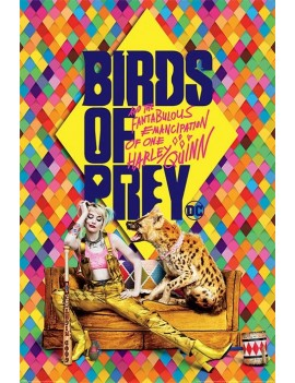 Birds Of Prey Poster Pack Harley's Hyena 61 x 91 cm (5)