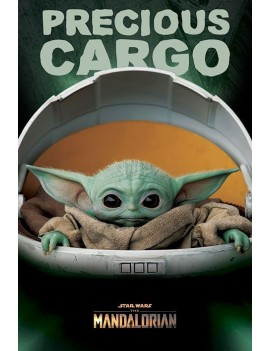 Star Wars The Mandalorian Poster Pack Precious Cargo 61 x 91 cm (5)