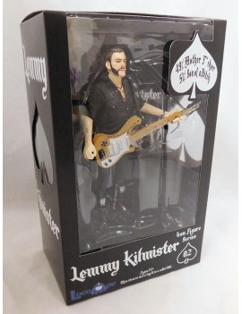 Motörhead Action Figure Lemmy Kilmister Rickenbacker Guitar Cross 16 cm