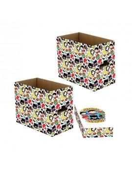 DC Comics Storage Boxes Justice League Chibi 23 x 29 x 39 cm Case (5)