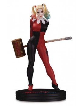DC Cover Girls Statue Harley Quinn by Frank Cho 23 cm
