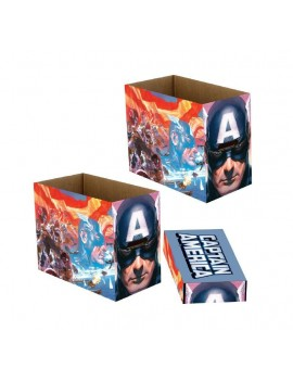 Marvel Storage Boxes Captain America Patriot 23 x 29 x 39 cm Case (5)