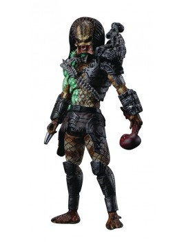 Predator Action Figure 1/18 Battle Damage Jungle Predator Previews Exclusive 11 cm