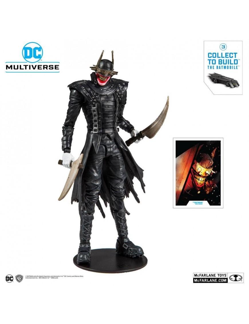 Dark Nights: Metal Build A Action Figure The Batman Who Laughs 18 cm