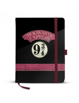 Harry Potter Premium Notebook A5 Hogwarts Express 9 3/4
