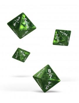 Oakie Doakie Dice D8 Dice 18 mm Goyf Marble - Green (4)