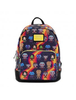 Marvel by Loungefly Backpack Guardians Chibi AOP