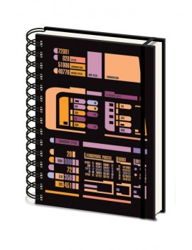 Star Trek TNG Wiro Notebook A5 Control Panel