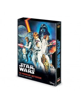 Star Wars Premium Notebook A5 A New Hope VHS