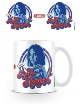 Stranger Things Mug Robin Rules