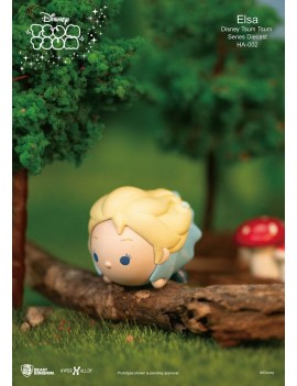 Disney Tsum Tsum Hyper Alloy Mini Figure Elsa 4 cm