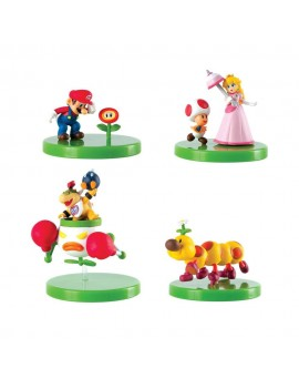 Super Mario Buildable Figures Mystery Pack Display (12)