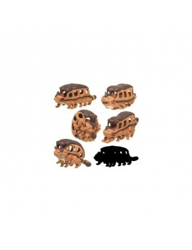 My Neighbor Totoro So Many Poses Collection Mini Figures Catbus 6 cm Assortment (6)