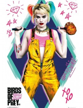 Birds of Prey Poster Pack Harley Quinn 61 x 91 cm (5)