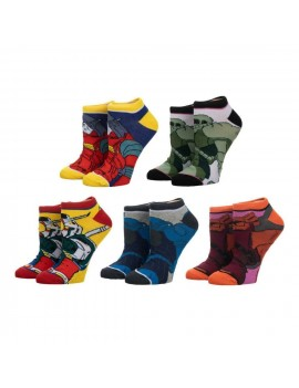 Gundam Ladies Ankle Socks 5-Pack