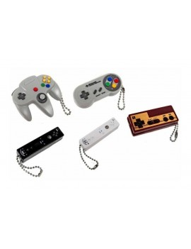 Nintendo Danglers Keychains 6 cm Mystery Pack Controller Display (24)